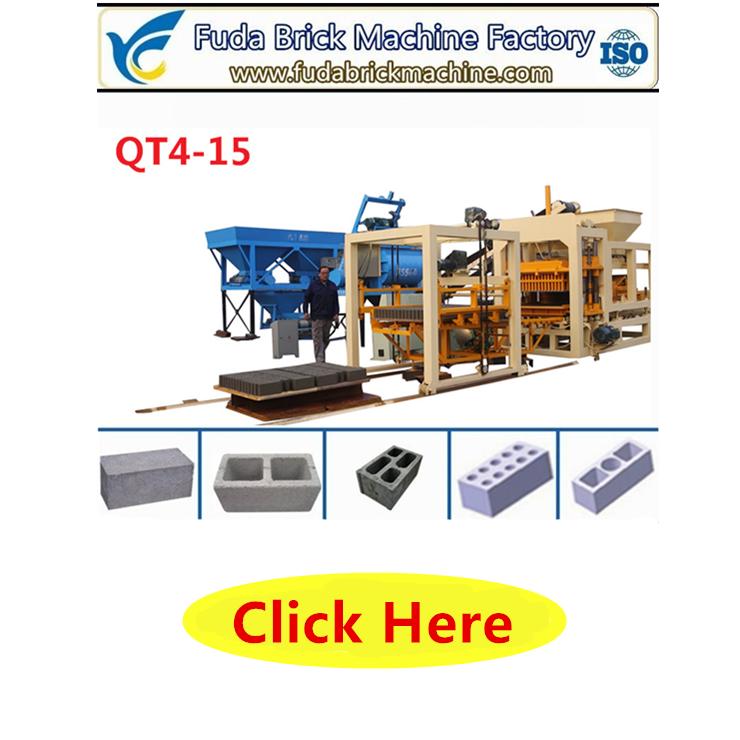 QT2-10 habiterra blok makinesi renkli finişer tuğla makinesi birbirine blok