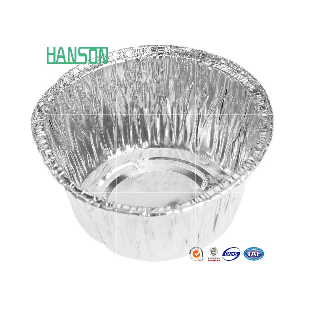 Aluminum foil containers, disposable bowl, pands, fast food packing, Factory