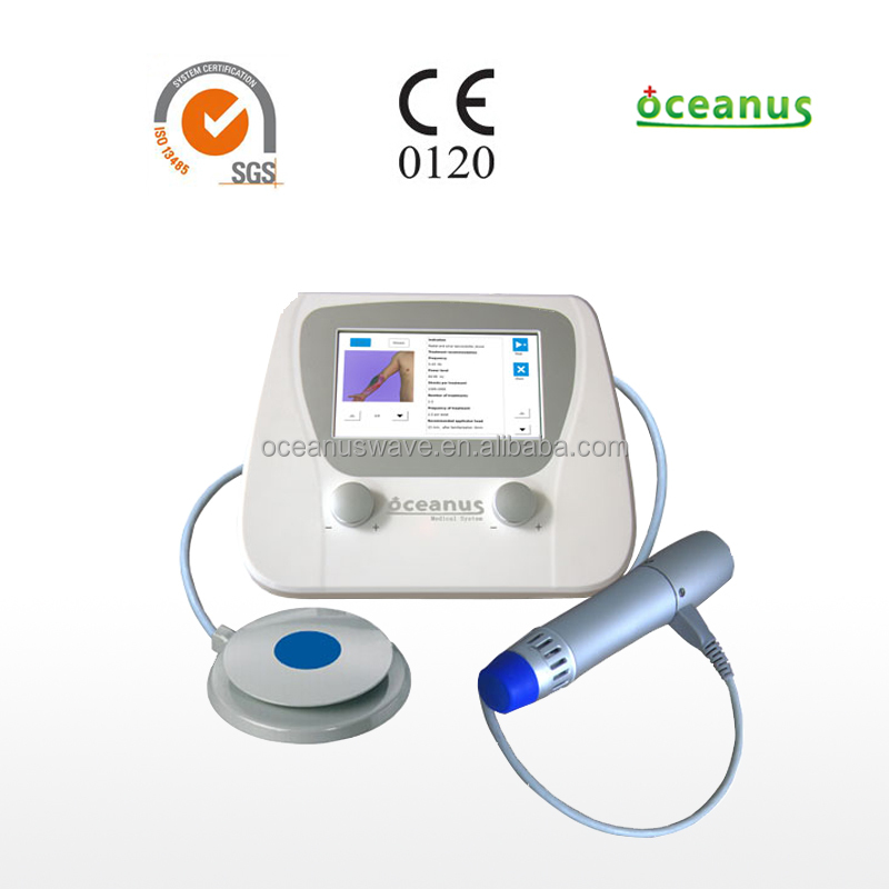 Oceanus Shock Wave machine for diabetic foot/Orthopaedic physiotherapy diabetes treatment equipment/for physiotherapists