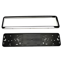 Customized car US Europe standard carbon license number plate frame