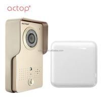Shenzhen factory ACTOP Rain household tamper wifi video door phone Wi-fi smart super visual intercom doorbell