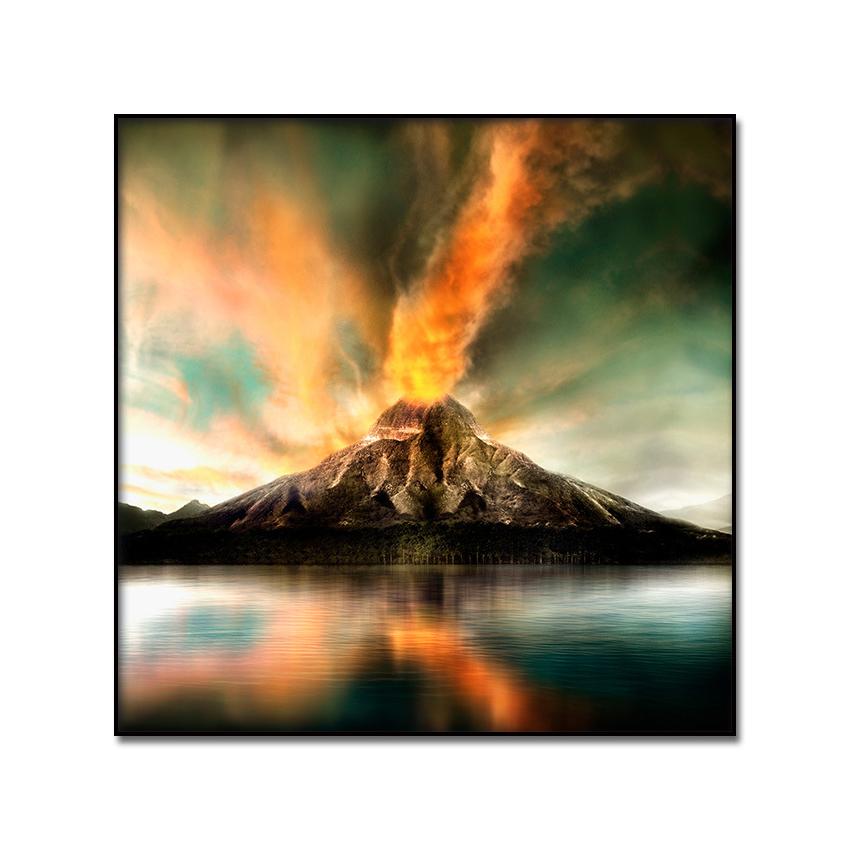 760+ Lukisan Pemandangan Gunung Berapi Gratis Terbaik