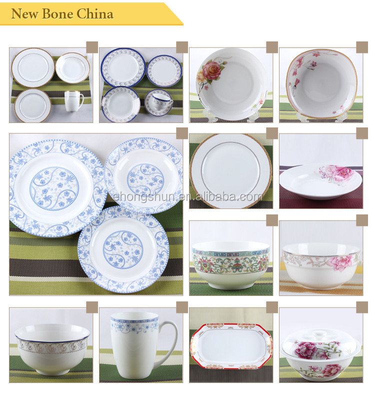 fine bone china dinner plates set houseware different kind of china wares - China Dinner Plates