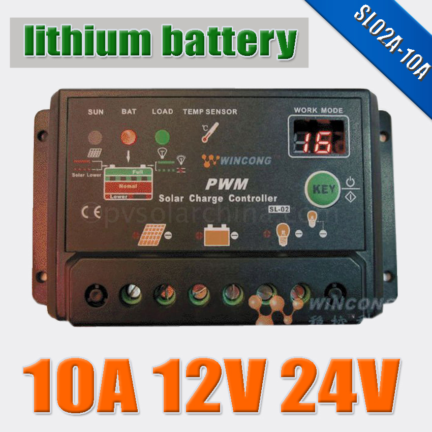 10a 12vdc 24vdc Li Li Ion Lithium Lifepo4 Batteries Solar
