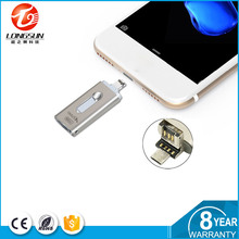 Tipo de criptografia e Interface USB 2.0 de metal unidade flash usb para smartphones otg usb flash drive