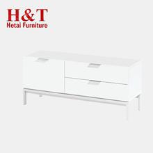 Heißer Verkauf Einfache Holz Tv Einheit Design Möbel Wohnzimmer Pu Malerei  Sideboard Mit Metall ...