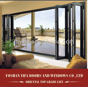 Accordion Glass Doors indian main gate door designs aluminum exterior folding glass