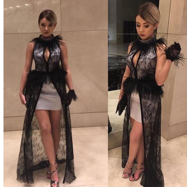 Alibaba.com / Sexy New Arrival Women's Celebrity  Evening Clubwear Runway Party Dress