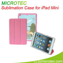 2013 new products,new designs,sublimation Flip Case for iPad Mini