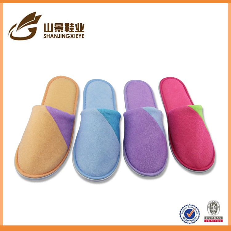 wholesale China supplier women slipper soft terry indoor slipper