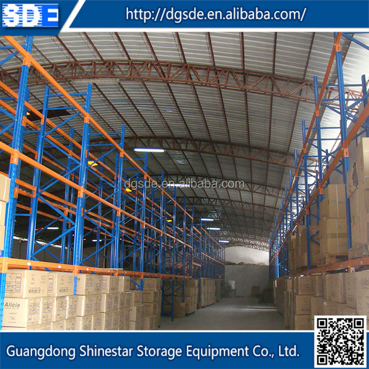 High quality heavy duty pallet rack equipment