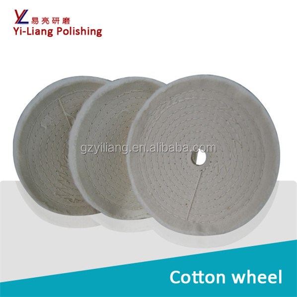 mirror finishing wheel for square pipe fine polishing