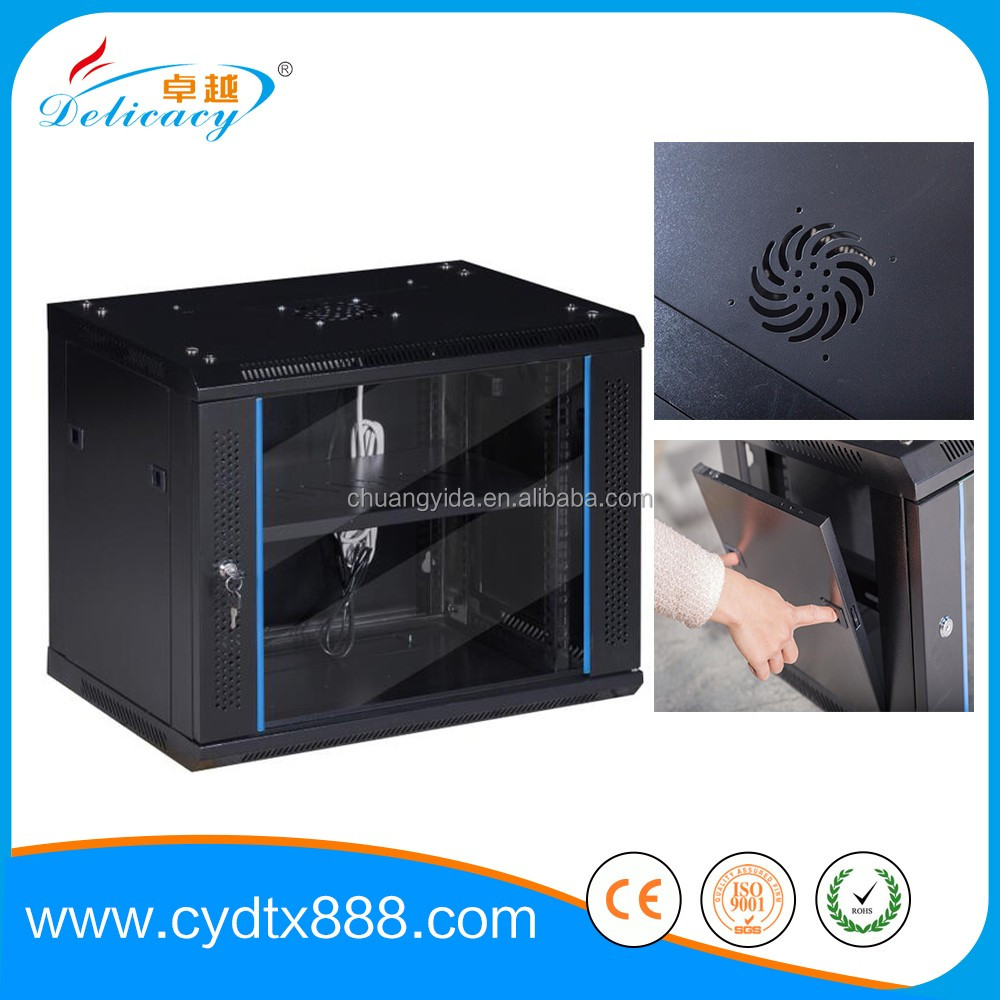 China factory 6u TV telecom indoor rack cabinet