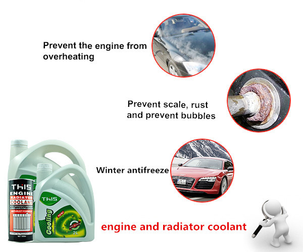 Private Label Car Care Products Wholesale automotive waterless anti freeze car engine radiator coolant