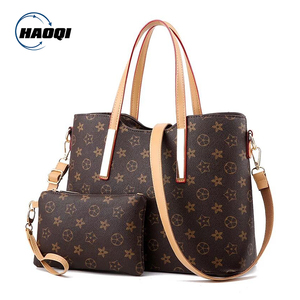 Ready to ship new style fashion Alibaba Wholesale ladies handbag with wallet