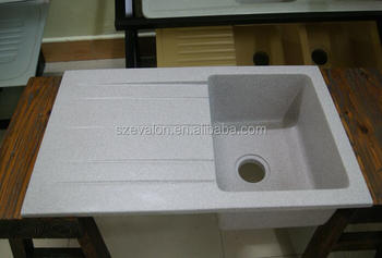 Factory Price Acrylic Solid Surface Single Kitchen Sink ...