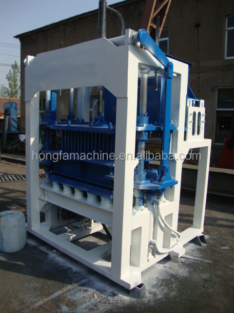 QT4-20 Conctrete paving block making machine small business machines manufacturers