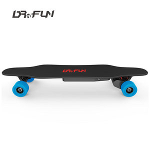 DF-SLHB-001 longboard electric skateboard dual belt motor europe for adult