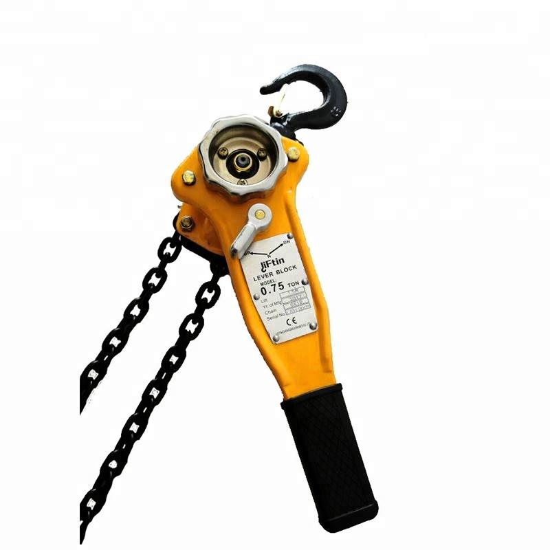 1000kg 15mtr Chain Block Lifting Tackle Crane Hoist Manual Gantry Hand Pulley