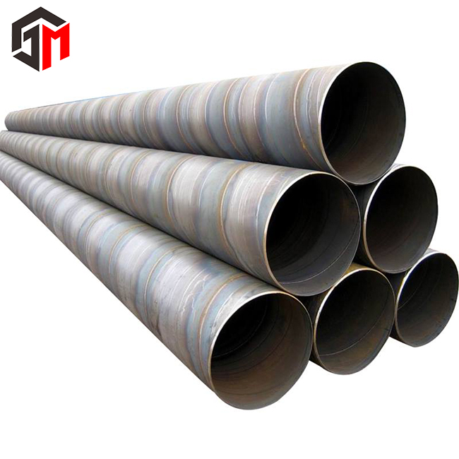 High quality construction material steel spiral tube/pipe