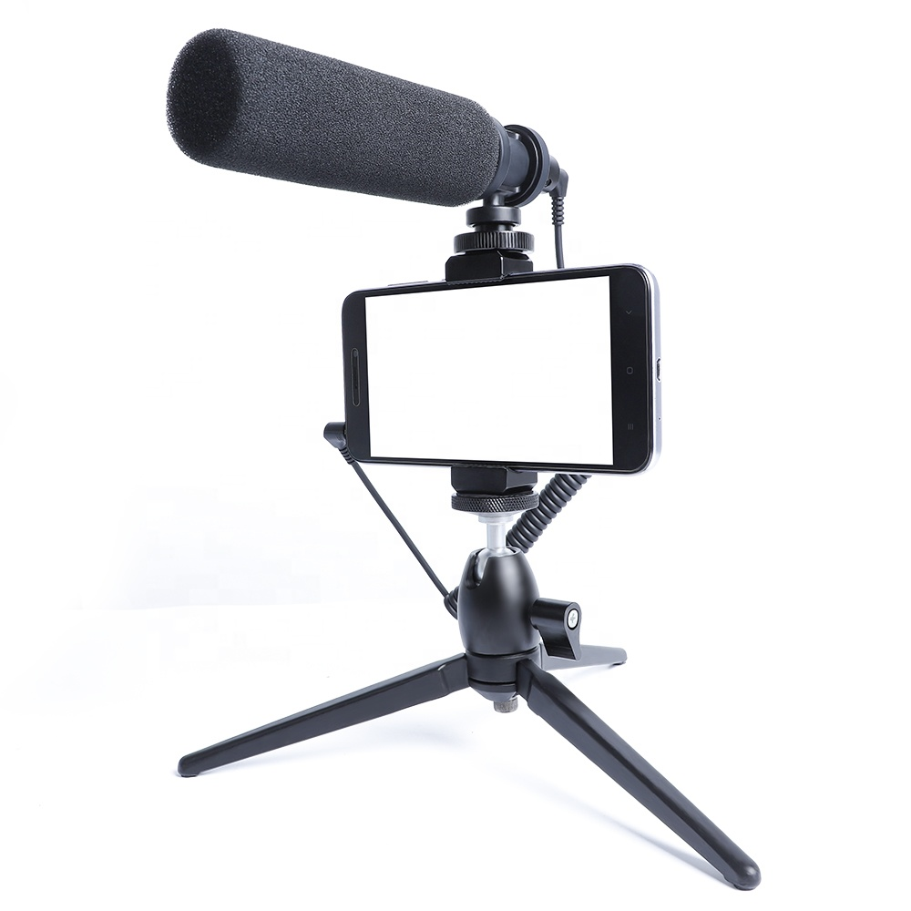 MAONO Hypercardioid Mobile phone holder video Live broadcast Microphone