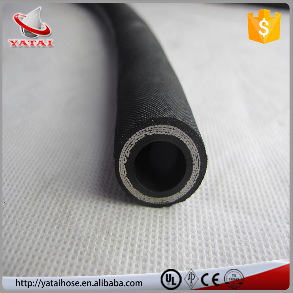 Heavy Construction Machinery Industrial Synthetic Rubber Hose Hydraulic Rubber Hose 4SP/4SH