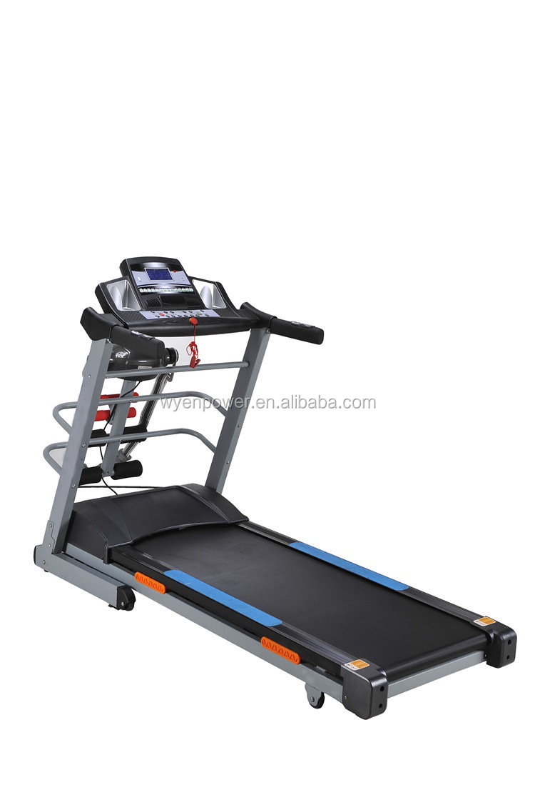 how to use 4 in 1 manual treadmill