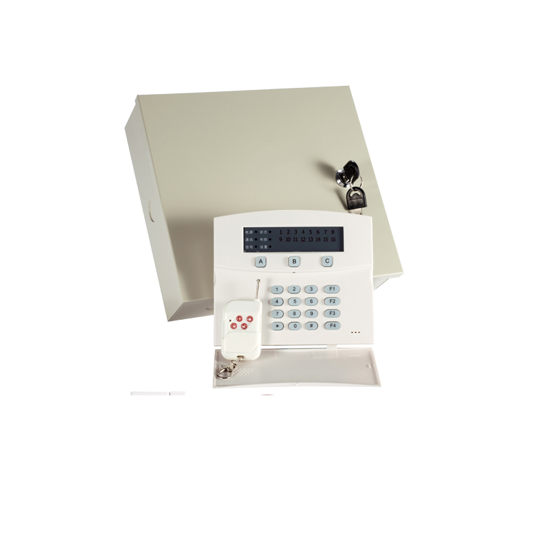 Hard-Working 1 Set Iron Box Industry Alarm System Wireless 433mhz Remote Control Led Keypad 16 Wireless And 16 Wire Zones Gsm Pstn Dual Net