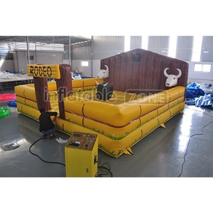 Mechanical bull rides inflatable bull rides rock bull rides for amusement park