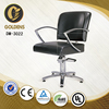 black color salon chair
