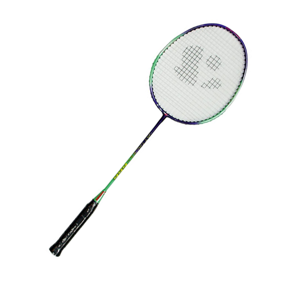 Full carbon graphite racket trein racket goedkope custom top badminton geweven racket