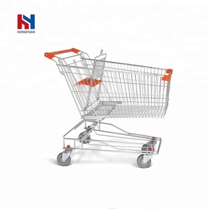 Chinese manufacturer best price metal shopping trolleys