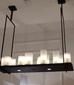 Modern Candle Pendant Light Large Lighting