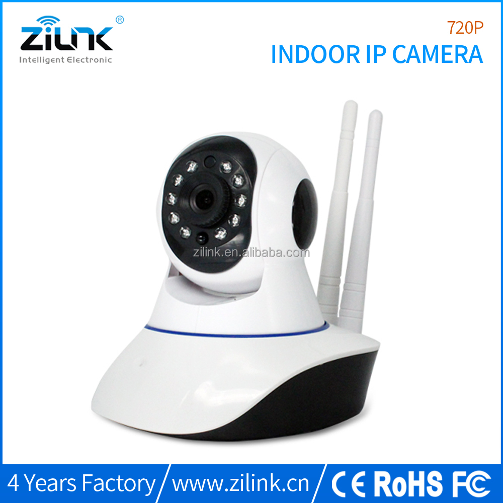 HD 720P pan & tilt indoor baby mornitoring camera wireless security camera
