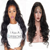 Wholesale cheap brazilian human hair full lace wigs with baby hair,natural brazilian wigs human hair lace