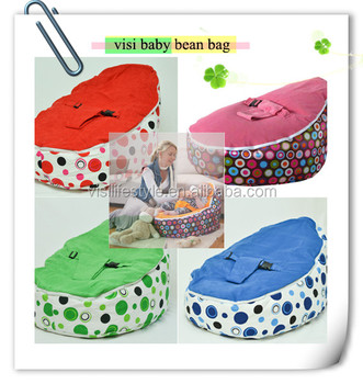 Visi Baby With Harness Beanbag Chair Cover Wholesale
