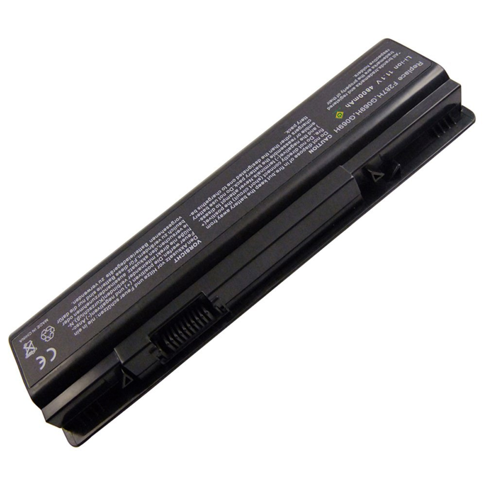 Bay Valley Parts6-cells 11.1V 5200mAh Replacement Laptop Battery for Dell Inspiron 1410/Vostro 1088/A860 Series