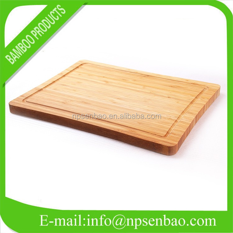 New Design Disposable Bamboo Chopping Board with Holder