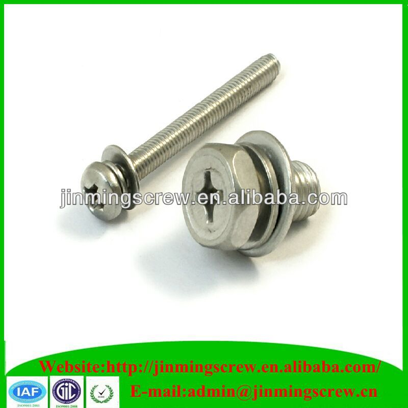 combination and sem screws plated finish furniture screws and fasteners