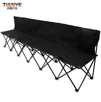 Astonishing Tianye Steel Portable Folding Camping 6 Seat Bench Chair Dailytribune Chair Design For Home Dailytribuneorg