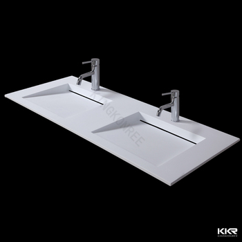 Wash Hand Basins Acrylic Basin Double Drain Board Bathroom Sinks