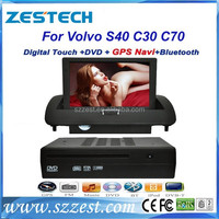ZESTECH 2 Din Digital Touch Screen car dvd gps for Volvo S40 GPS/Radio/3G/Phonebook with touch screen for Volvo S40