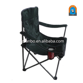 CB 026 Hot Promotion Fabric Folding Beach Chair With Cup Holder