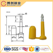anti rotary seal function BC-B101 Bolt Seal for shipping containers