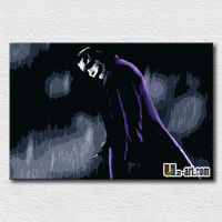 Modern decoration handpainted movie pictures wall poster canvas art