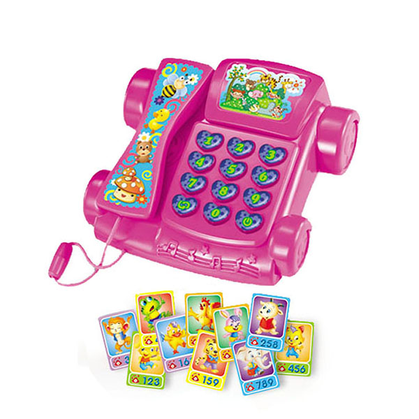 [JK TOYS] Kid Language Learning Toys Phone With Cards