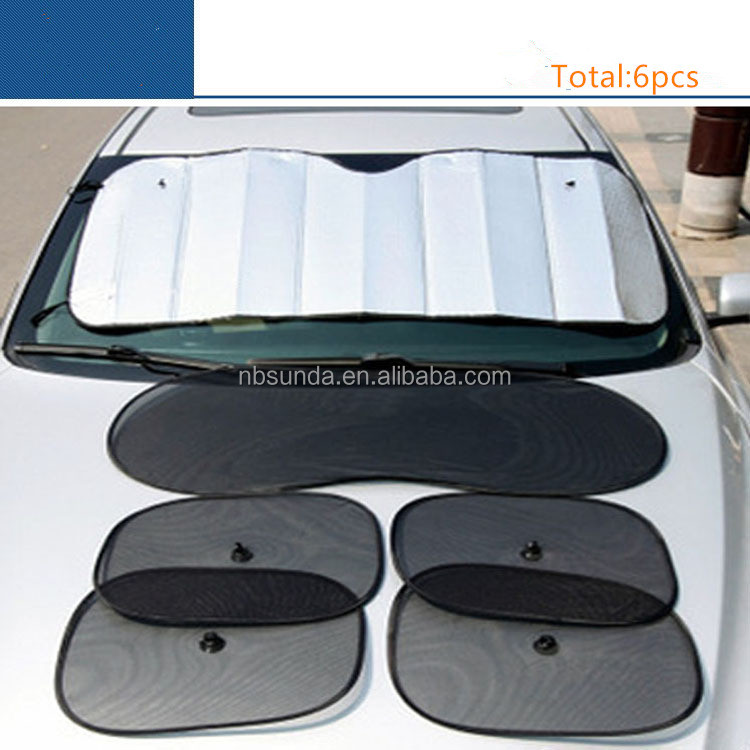 Wholesale Car <strong>Sun</strong> Shade 6pcs Per Set Car <strong>Sun</strong> Visor