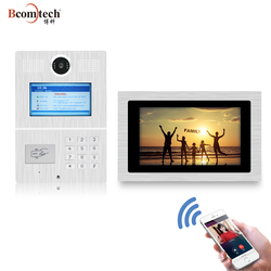 Bcomtech Smart home TCP IP SIP Multi building Smartphone Video Intercom