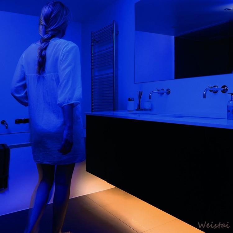 Motion Sensor Strip Light Baby Room Stick Anywhere Led Light With ...