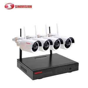 P2P NVR KIT 1080p 2.0 mp wifi IP Camera CCTV Security Surveillance system CCTV 4CH Nvr Kit Wireless Wifi Cameras